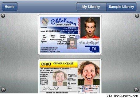 Una polémica app que creaba carnets de conducir falsos 3
