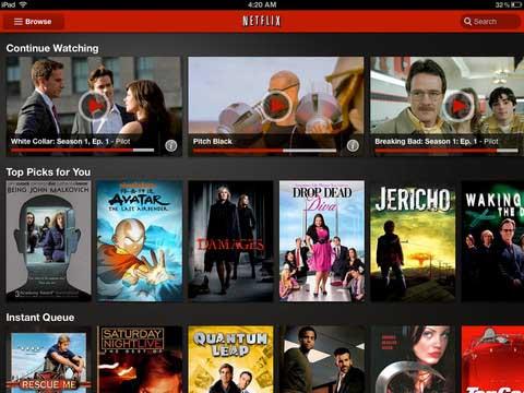 Netflix para iOS se actualiza y llega a América Latina 3