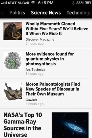 Zite, las noticias personalizadas en tu iPhone 3