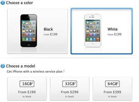 """iPhone 4s vuelve a estar """"en stock"""" en las tiendas online de Apple 3"""
