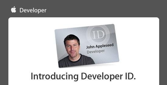 Apple presenta el Developer ID 3