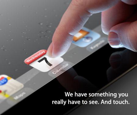 Apple anuncia de forma oficial la presentación de su iPad 3 el 7 de marzo 3