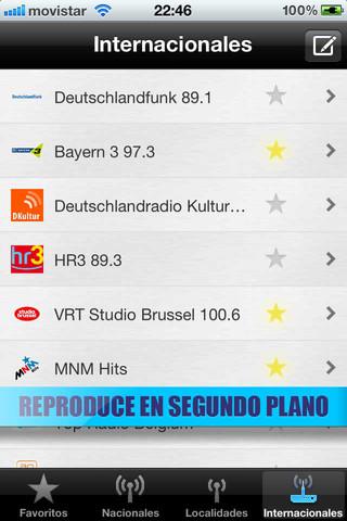Escuchar todas las radios desde tu iPhone con la app Radio España FM 5