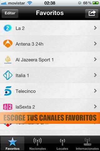 TV España TDT: la aplicación para llevarte lo mejor de la tele en TDT en tu iPhone 5