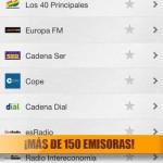 Escuchar todas las radios desde tu iPhone con la app Radio España FM 3