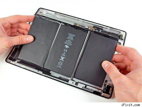 La batería del nuevo iPad tiene un 70% más de capacidad 3