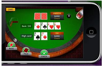 jugar al poker en iphone y ipad