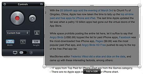 Screeny 2: aplicación para capturar en vídeo cualquier cosa de la pantalla de tu Mac 3