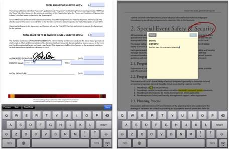 Adobe Reader: la aplicación para iPad que te permite escribir en documentos PDF 3