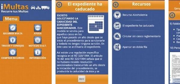 iMultas, la aplicación para iPhone que permite recurrir multas de tráfico 3