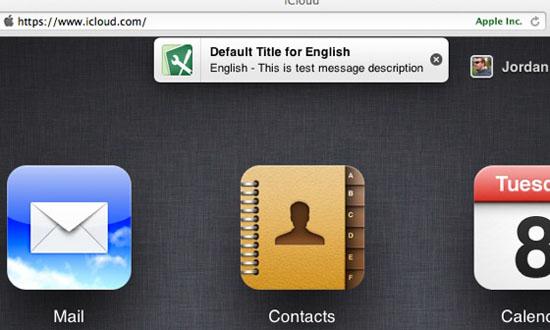 Apple podría estar probando el Centro de Notificaciones en iCloud.com 3