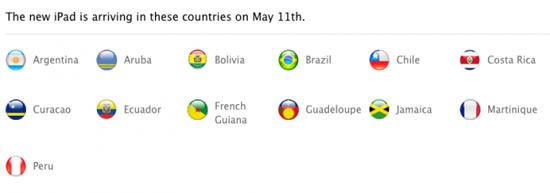 El Nuevo iPad será lanzado en 30 países más 3