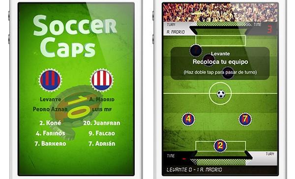 Soccer Caps: una aplicación que lleva el fútbol al mundo táctil de iOS