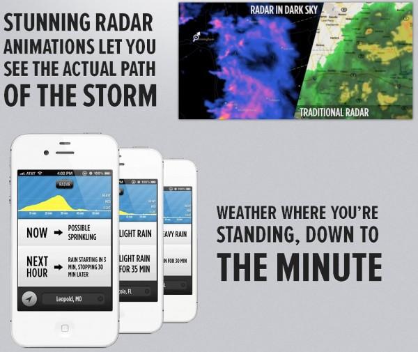 Dark Sky en iOS: controla el clima desde tu iPhone 3