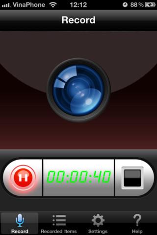 Display Recorder para iOS disponible en la iOS App Store 3