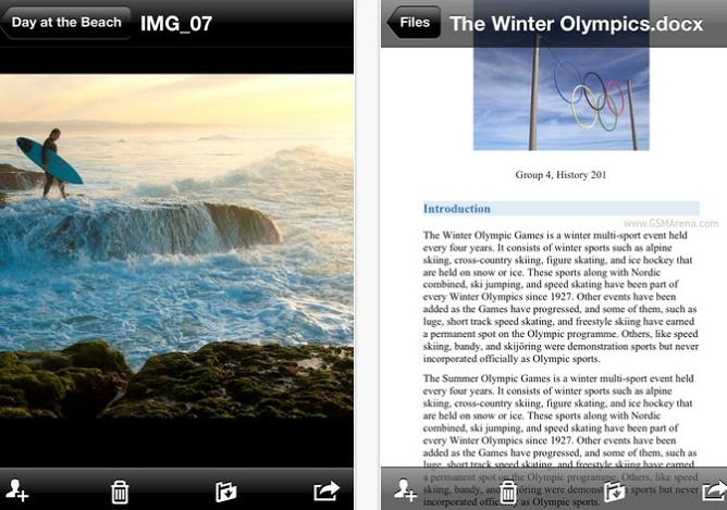 Microsoft SkyDrive recibe actualización para iPad 5