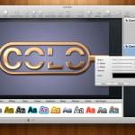 Logoist, una aplicación para crear logos, baners y casi cualquier diseño desde Mac OS X 2