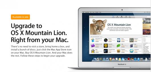 ordenadores compatibles Apple OS Mountain Lion