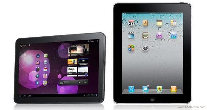 Samsung vs iPad Apple