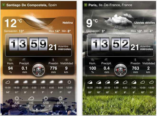 Tiempo iOS