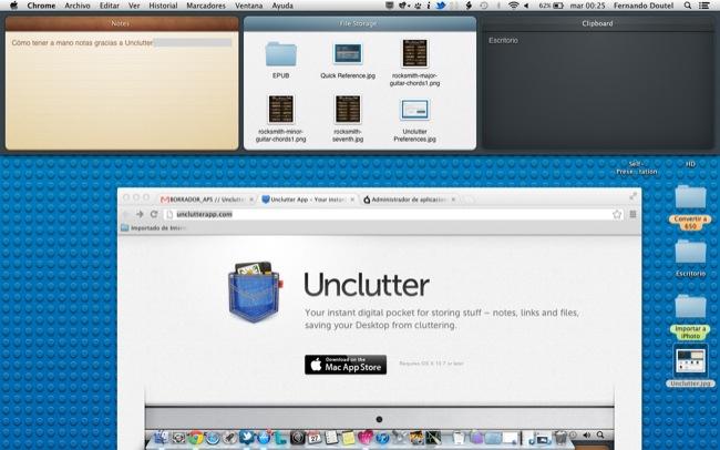 Unclutter app