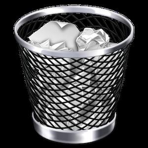 papelera Mac OS X