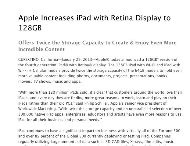 Apple iPad 128
