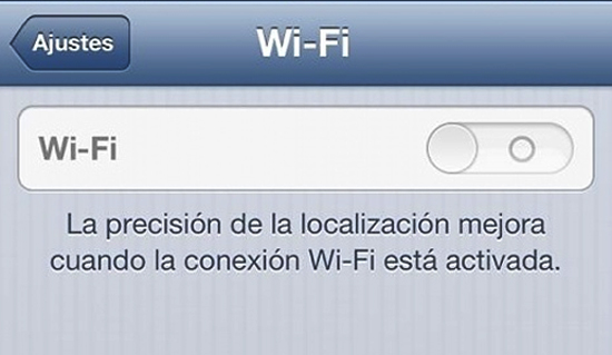 WiFi iPhone
