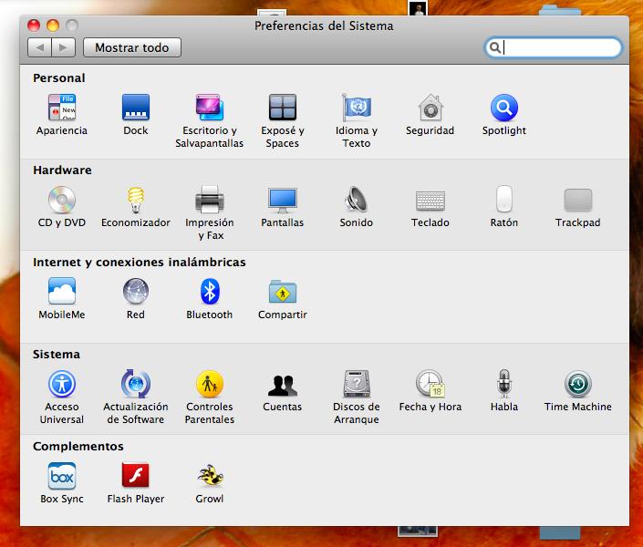 cambiar fondo dinámico en Mac OS X