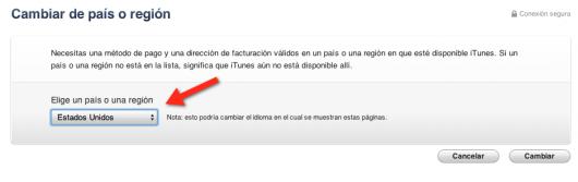 pais cuenta iTunes