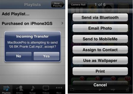 Celeste, comparte archivos vía Bluetooth 2