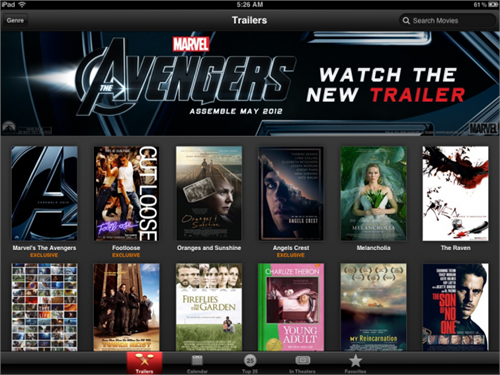 iTunes Movie Trailers