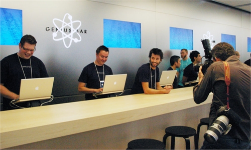 Apple Store en China y las reventas de la Genius Bar 2