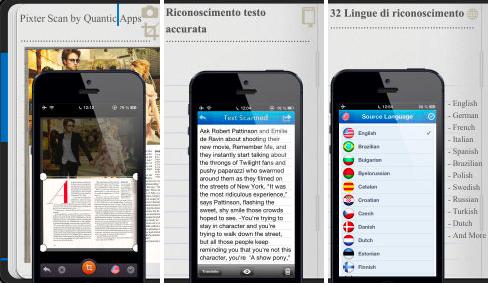 app escaner iPhone