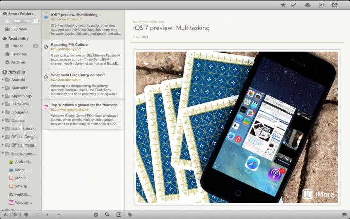 ReadKit, olvidando a Google Reader 2