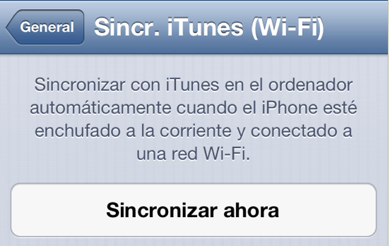 WiFi itunes