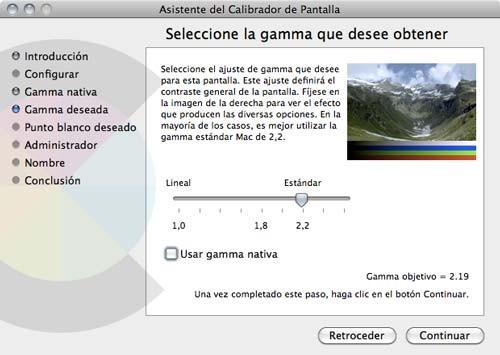 Calibrar pantalla MacBook Air 2