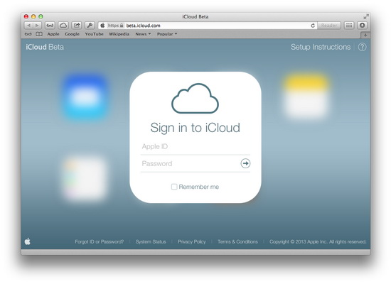 El nuevo aspecto de iCloud.com 2