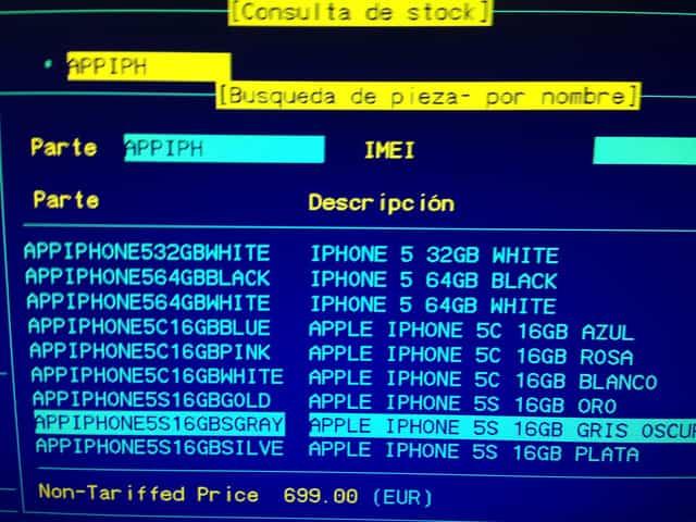 iPhone 5s lanzamiento