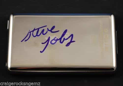 iPad firmado Jobs