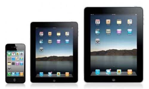 Foxconn prueba pantallas más grandes para iPad 2