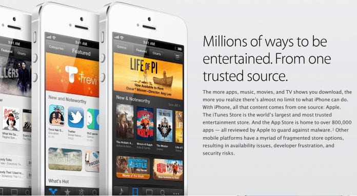La App Store recauda 10.000 dólares en 2013 2