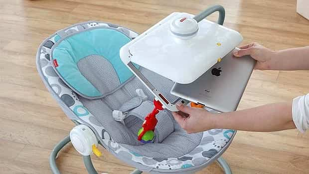 Apptivity Seat: silla de bebé con soporte para iPad 2