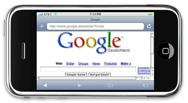 Google Apple iPhone 1