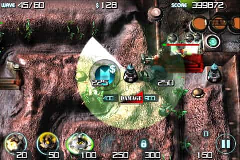 Kingdom Rush y Sentinel Mars para iOS 2