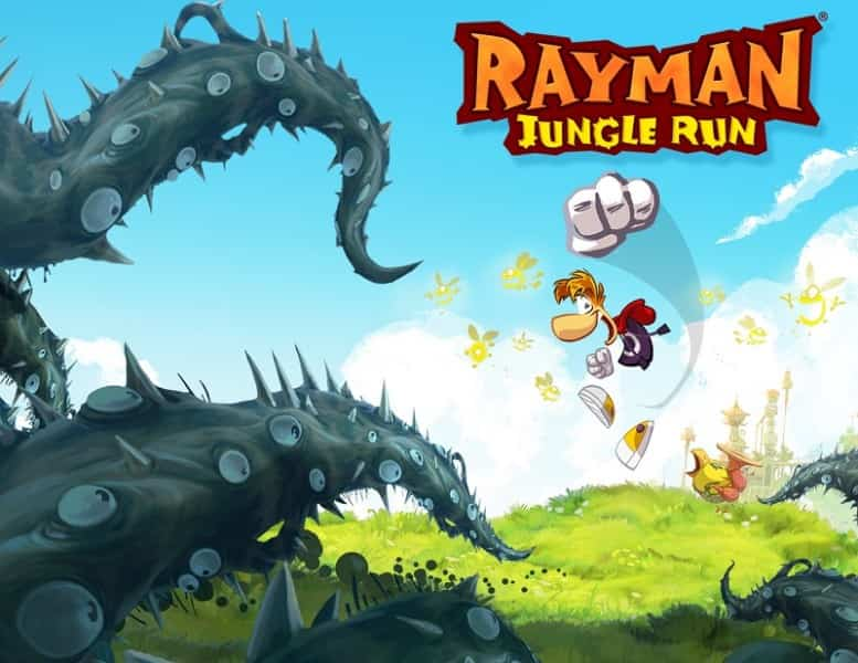 Rayman Jungle Run iOS 1