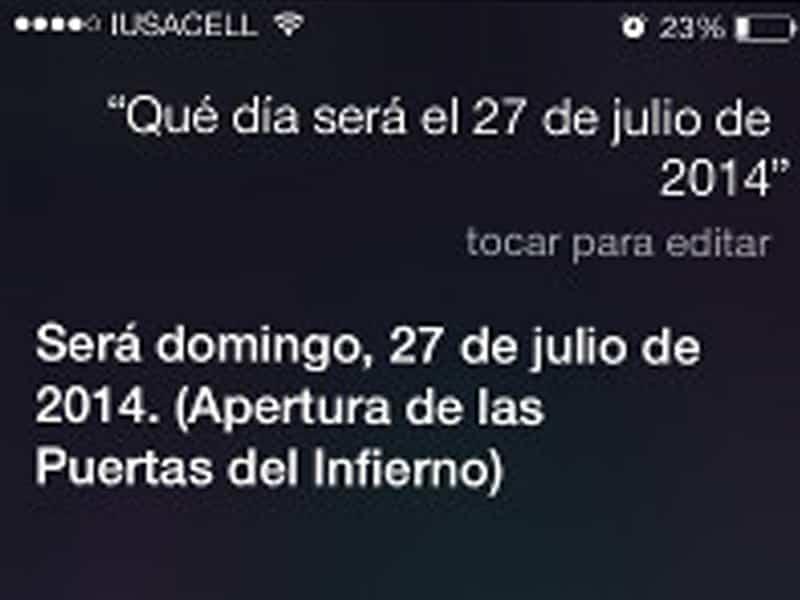Siri Fin del mundo 2