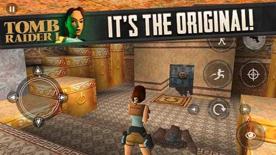 Tomb Raider iOS 1