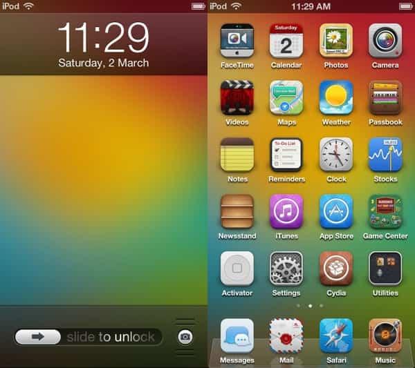 Winterboard iOS 7 1