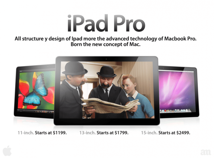 Híbrido tablet y portátil para empresas: iPad Pro 2